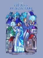 cover of glass magician by breath-art