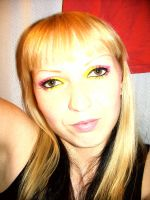 Neon  make up by Sweetie-J