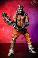 Mind on Fire - Psycho Krieg Borderlands 2 Cosplay by LeonChiroCosplayArt