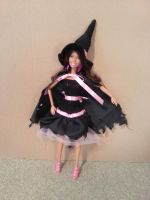 Witch Halloween Costume - fashion doll pattern by merineiti