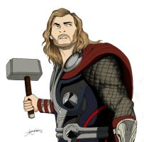 Thor by ArtisticCole