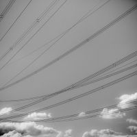 More power lines by Qo-oQ