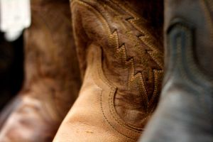 Shafts of Cowboy Boots by AngryRedHead