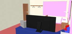 MMD Stage: Neru's Room by RossCuth
