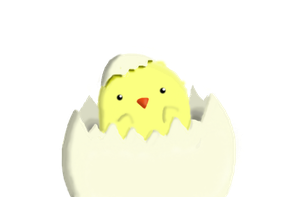 newborn little chick :random: by YooriYooriliz