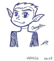 Beast Boy in 1 min by Tolina