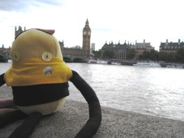 Data Loves Big Ben by Knot-All-There
