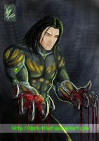 Darkness: bloody hands by Dark-thief