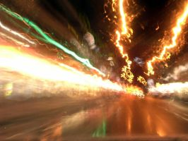 driving explosion by assiduous