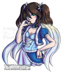 Haughty Iris by x-Roulette-x