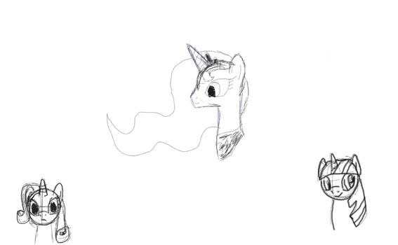 Random Sketches by BronySideswipe