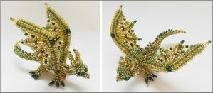 Dragon brooch v4 by Rrkra