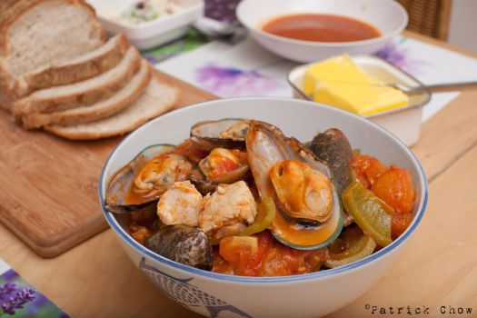 Mussels fish stew 1 by patchow