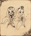 ever after high by cuteart13