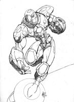 iron man by -adam-