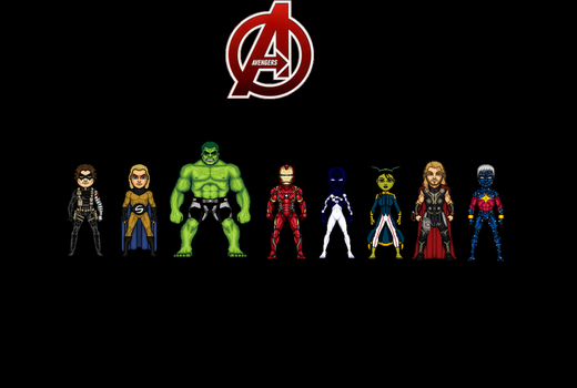 Avengers by Jalil1m