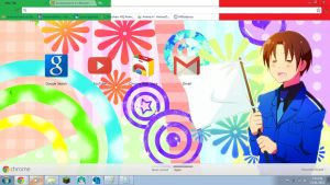 Hetalia: North Italy Chrome Theme DL by Soraoraoraora