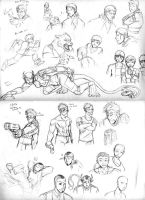 Artifact SketchDump1 by The-Alchemists-Muse