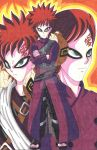 Gaara: From Sadness to Joy by d13mon-studios