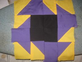 5 Element Quilt WIP by WillowForrestall