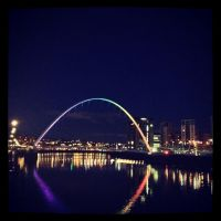 Newcastle at night by WhoAreYou1978