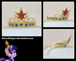 Element of Magic Tiara (AKA: Big Crown Thingie) by SilverSlinger