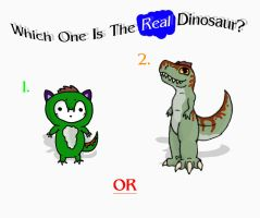 Which One Is Real? by ArtBeginsHere