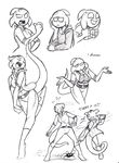 Thorn Sketchessss by Mickeymonster