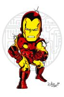 Iron Man classic armor - Color by Axl-316