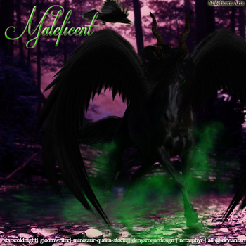 MaleficentCont by iEvent