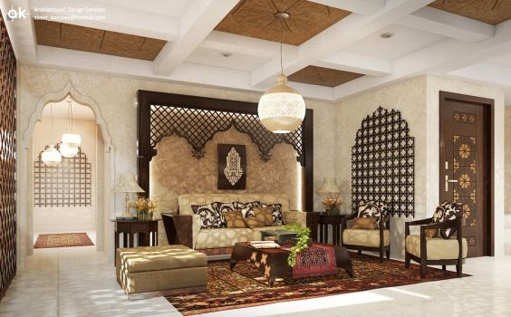 Islamic interior 1- Mr. Mahmoud N by kasrawy