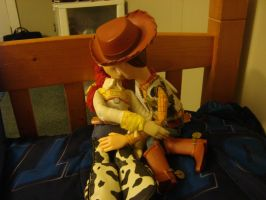 Woody and Jessie kissing by spidyphan2