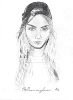 Cara Delevingne by floweringfawn