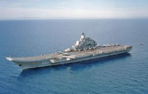 Russian carrier Kuznetsov by achmedthedeadteroris