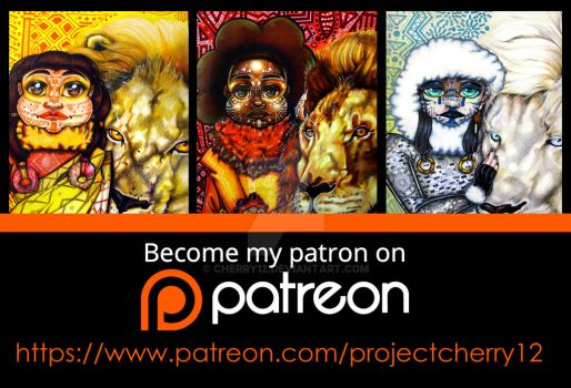 Follow Me on Patreon by cherry12