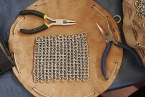 chainmail making of 16 by djorll
