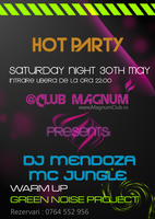 Flyer for Club Magnum by vander90