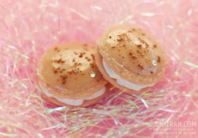 French Macaroon Magnets by xlilbabydragonx