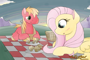 Hearts and Hooves Days - Fluttermac by feather-chan