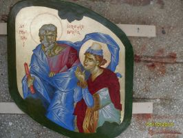 Prophets Jeremiah and Daniel by florian-lipan