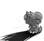 Espurr alone... by Furreon