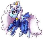 |CLOSED| .:Ice Queen Bat Pony Adopt:. |AUCTION| by WandaAdopts