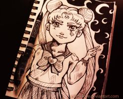Sailor Moon 2014: Doodle by eximelove