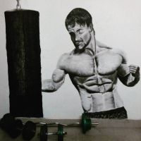 Greg Plitt - wall art by it9chi