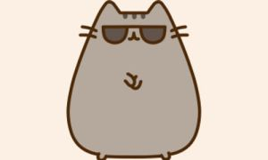 Pusheen: Gangnam style(: by ILoveToWriteStories