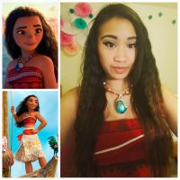 Moana Cosplay by piggy-bunny