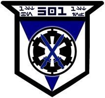 501st Legion 1st BN 1st INF by viperaviator