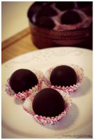 Coffee-Cracknel Chocolates II by pandrina