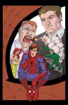 spider-man color by bolognafingers