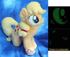 Applejack V2 Bendy -Glow-in-the-Dark- by kiashone